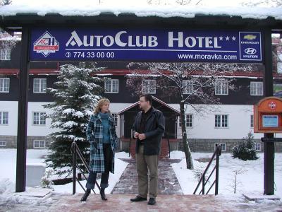 celebrity v hotelu